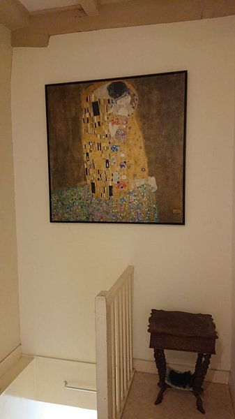 Kundenfoto: Der Kuss - Gustav Klimt
