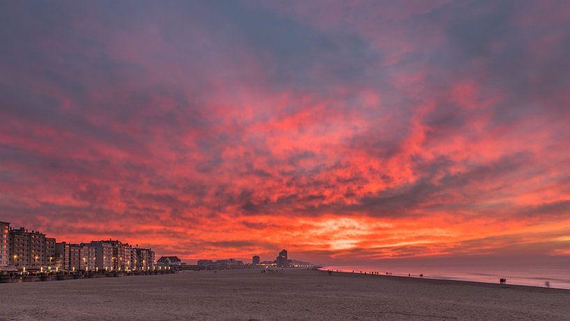 the sky is on fire van Koen Ceusters