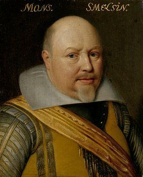 Porträt von Nicolaas Schmelzing, Michiel Jansz van Mierevelt
