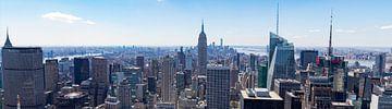 Panorama uitzicht op Empire State Building von Merlijn Kerklaan