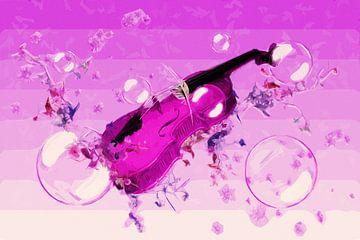 pink melody van Dagmar Marina