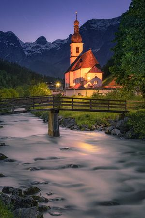 Parish church of St. Sebastian (Ramsau / Berchtesgaden)
