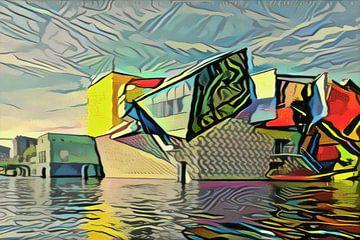 Musée Groninger dans le style de Picasso sur