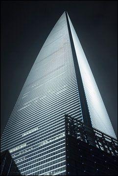 World Financial Cente Wolkenkratzer in Pudong District Shanghai 6 von Tony Vingerhoets