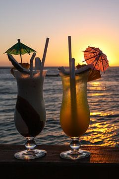 Sunset Celebration in Fiji van Erwin Blekkenhorst
