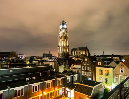 Utrecht in het donker