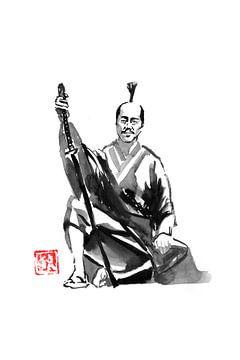Samurai rastend