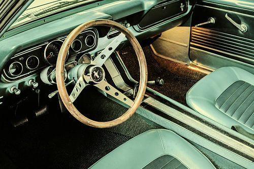 De vintage Ford Mustang