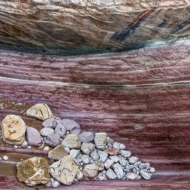 Stenen landschap van Marcel van Balken
