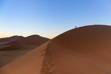 Zonsopkomst in de Namibië woestijn van GoWildGoNaturepictures