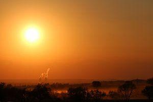 Sonnenuntergang van Riegler klaus