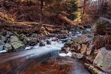 Bergfluss La Hoëgne von Rob Boon