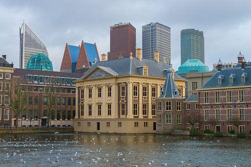 Binnenhof en Hofvijver, Den Haag, politiek centrum Nederland van