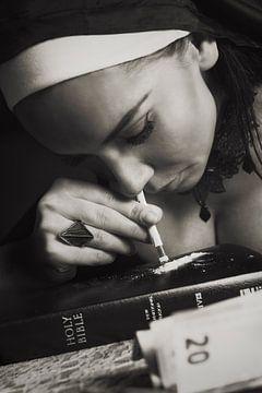 Cocaine religion-duotone van