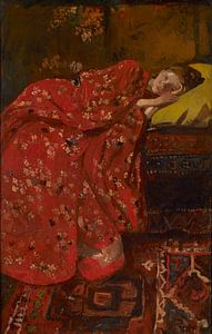 George Hendrik Breitner. De rode kimono