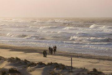 Storm on South Beach, The Hague sur