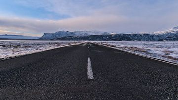 Ringstraße im Winter von Timon Schneider