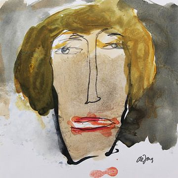Bea, portret, avatar van Leo de Jong
