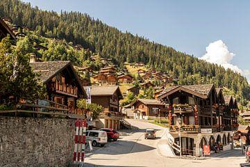 Grimentz, Schweiz von Sander de Jong
