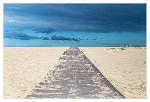 Endless beachroad