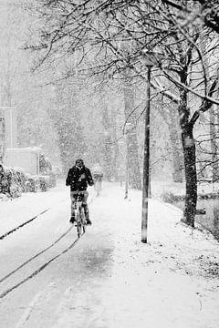 Radfahren im Schnee von Alyssa van Niekerk