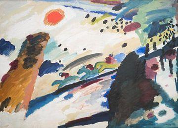 Romantische Landschaft, Wassily Kandinsky