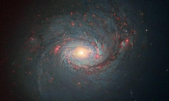 M77 Een spiraalstelsel