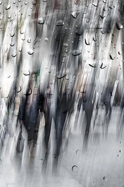 Straatfotografie in Antwerpen na de regen van Vandain Fotografie