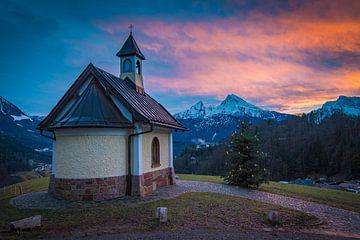 Winterabend in Berchtesgaden von Martin Wasilewski