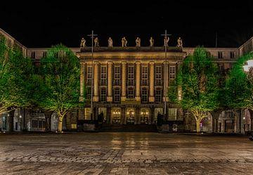 Rathaus Wuppertal Barmen bei Nacht von Joerg Keller
