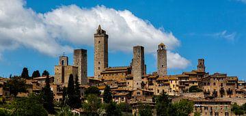 San Gimignano von Joke Beers-Blom