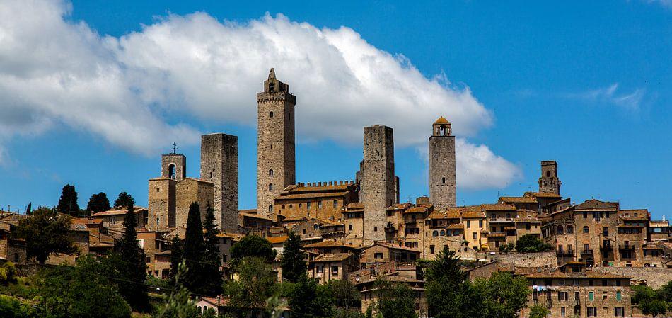 San Gimignano van Joke Beers-Blom