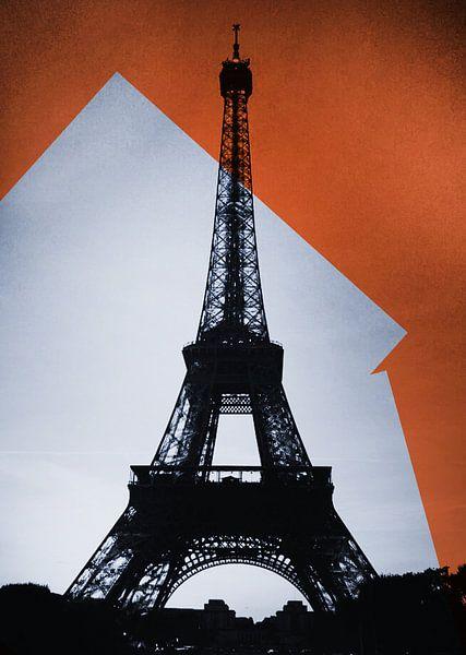 Eiffeltoren - Pop Art van Laurance Didden
