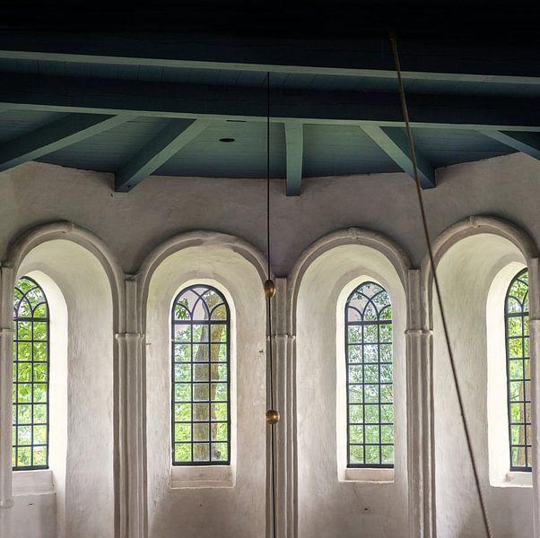 Boogramen in de kerk van Bo Scheeringa Photography