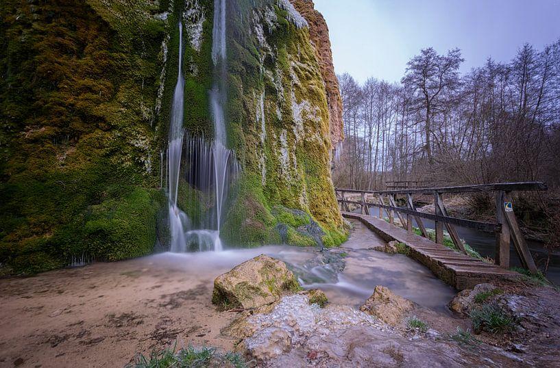 Dreimühlen Wasserfall von Linda Lu