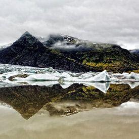 Fjallsarlon the Icelake sur Ab Wubben