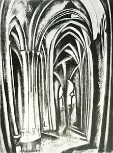 Robert Delaunay, Saint-Séverin, 1923 - 1925