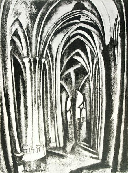 Robert Delaunay, Saint-Séverin, 1923 - 1925 van Atelier Liesjes