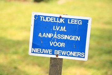 Bordje van Janjaap Van Dijk