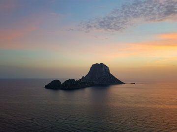 Zonsondergang Es Vedra, Ibiza van Danielle Bosschaart