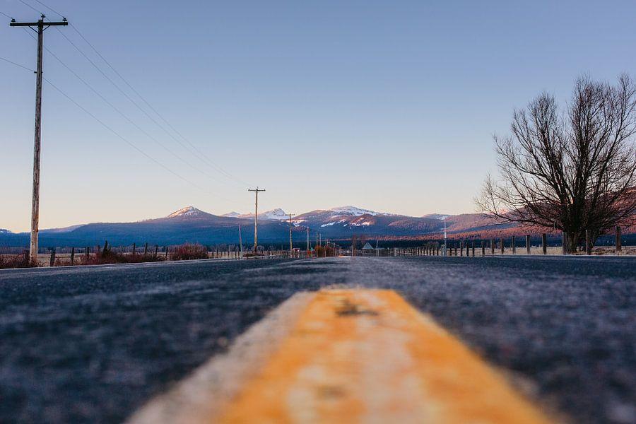Op weg in Oregon - Amerika