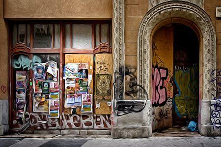 Graffity street von Juliën van de Hoef