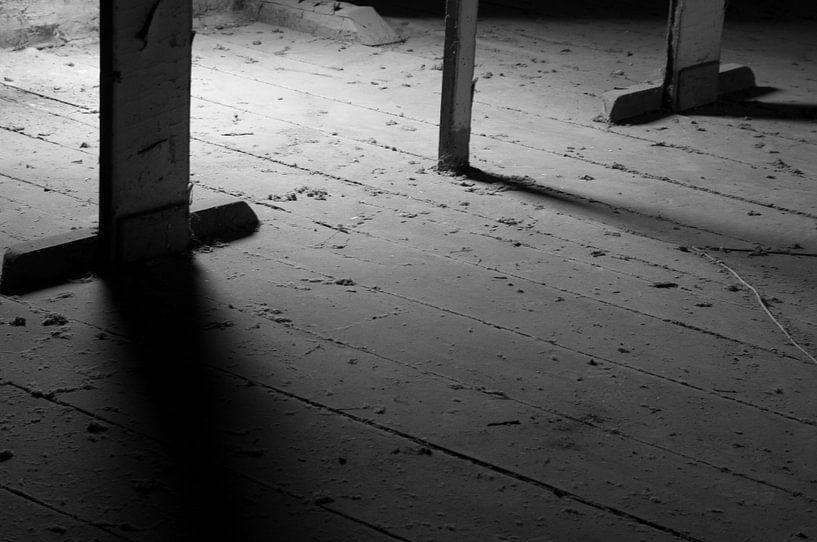 Licht en schaduw van Sander Strijdhorst