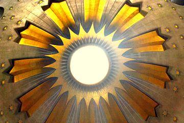 Koepel kerk Jeruzalem van Lou Wall
