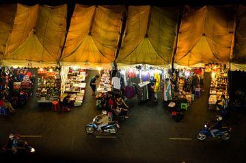 Nachtmarkt, Vietnam | Saigon | Ho Chi Minh City van Olivier Van Acker