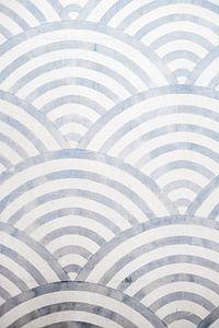 Japans patroon van MAIA prints