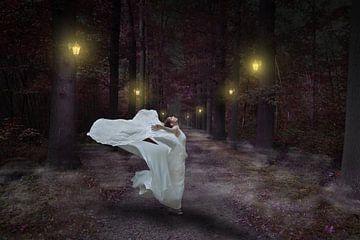 jurk waait op van nilix fotografie