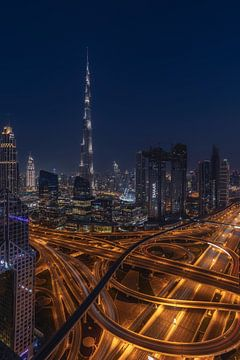 Burj Khalifa Betovering von Michael van der Burg