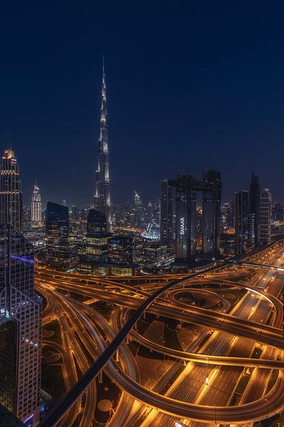 Burj Khalifa Betovering van Michael van der Burg