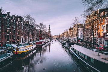 Winter in Amsterdam van Erik Hageman
